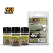 DUST AND DIRT DEPOSITS WEATHERING SET<br> AK4060